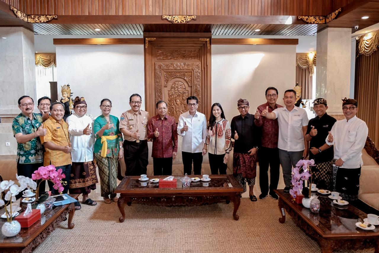 In His Visit To Bali, Wishnutama Exposed a New Paradigm of Tourism and Creative Economy